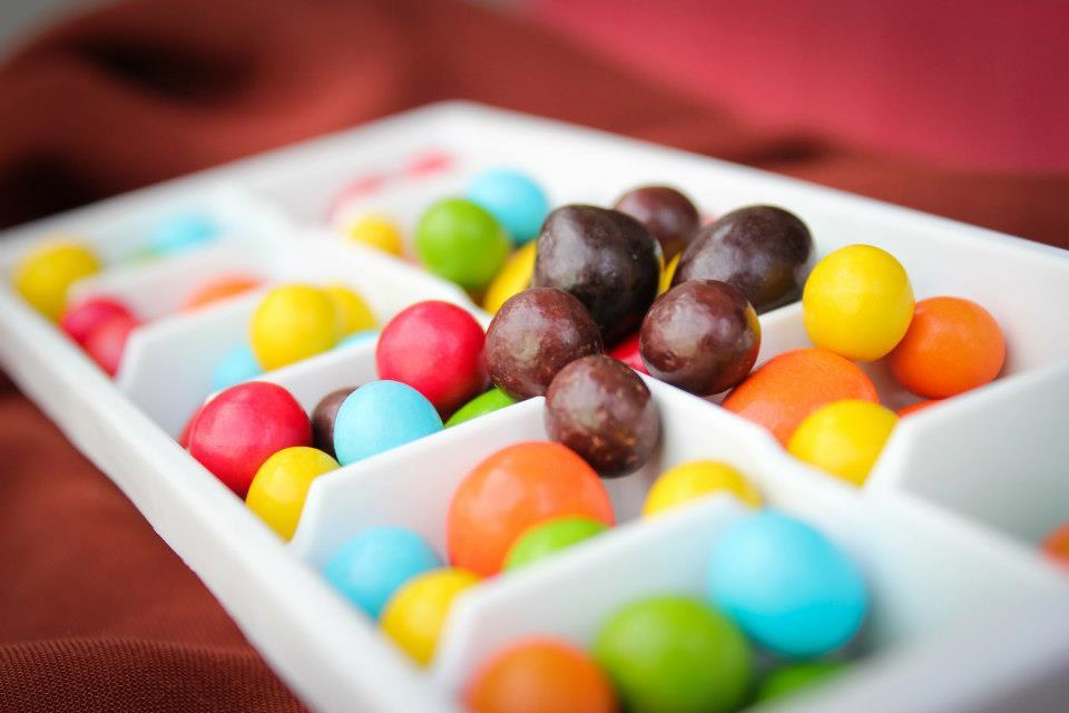 keberagaman jenis dan warna coklat menambah ke unikan cemilan yang satu ini (bawana)