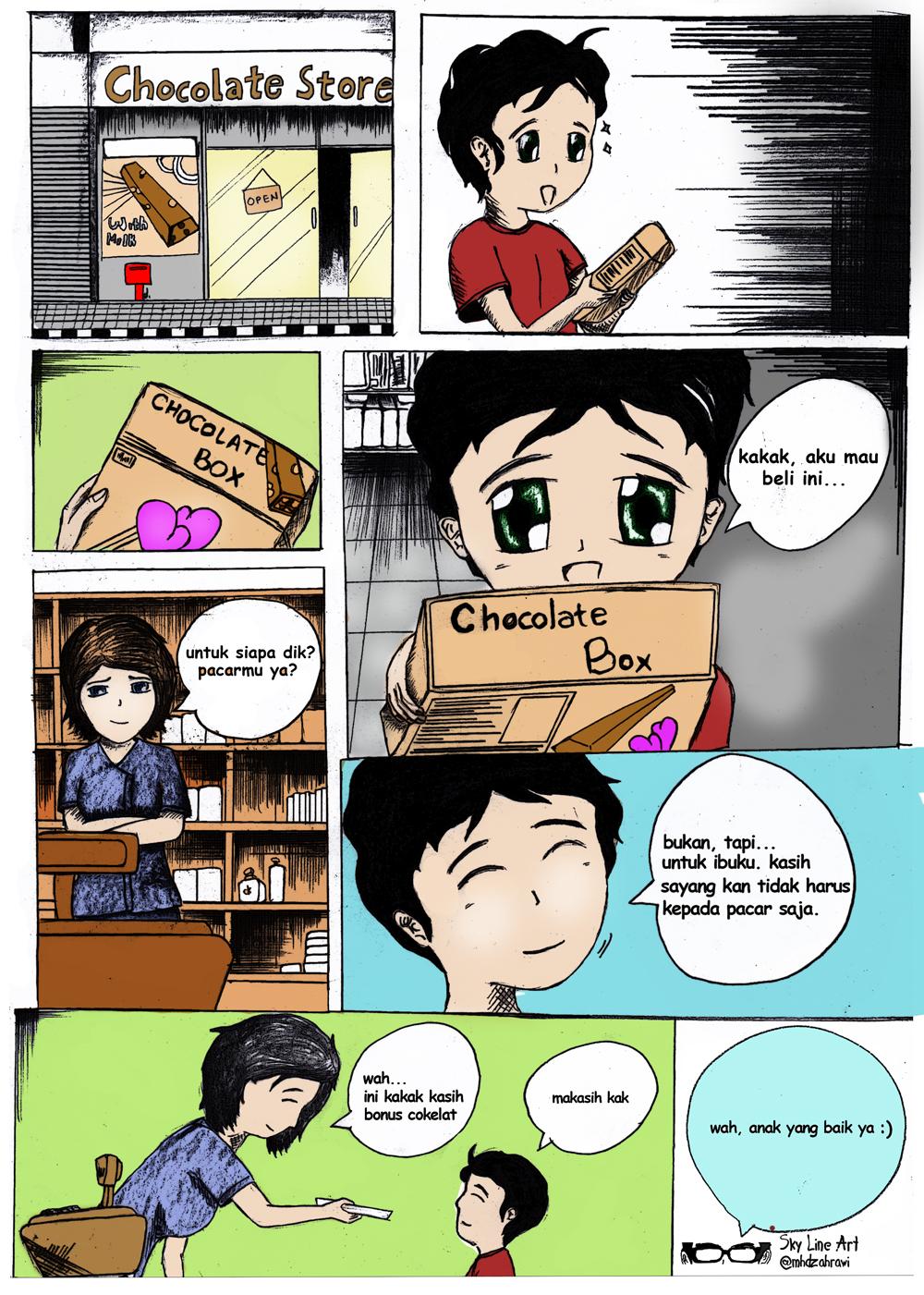 Cokelat Dan Ibu