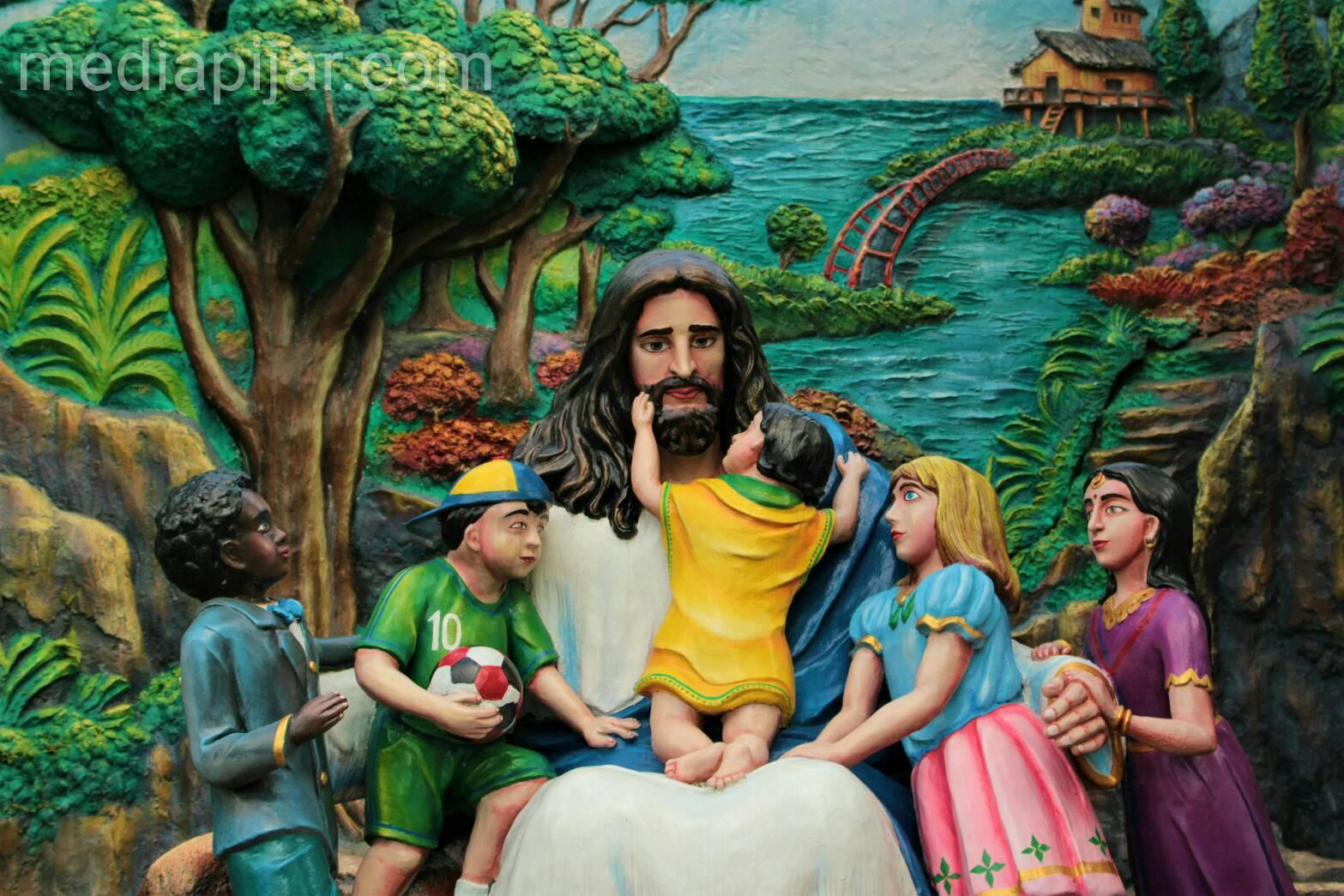 Yesus mengasihi seluruh anak-anak dari latar belakang kebudayaan yg berbeda.