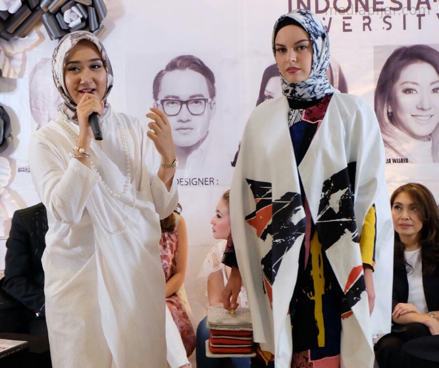 Salah satu busana karya Dian Pelangi yang akan tampil di New York Fashion Week. (Sumber: Dokumen Pribadi)
