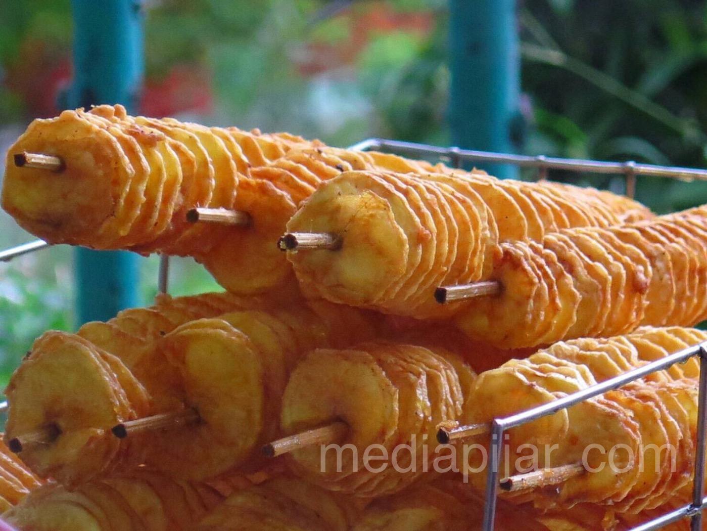 Kenikmatan dalam pusaran kentang. (Fotografer: Talitha Nabilah)