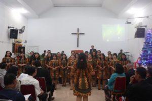 Persembahan pujian oleh Pelayan Tuhan GPPS Hermon Medan (Sumber: Dokumentasi oleh Jemaat)