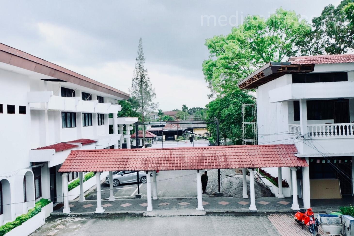 Tampak Gedung dan Koridor Kampus tercinta. (Fotografer: Talitha Nabilah)