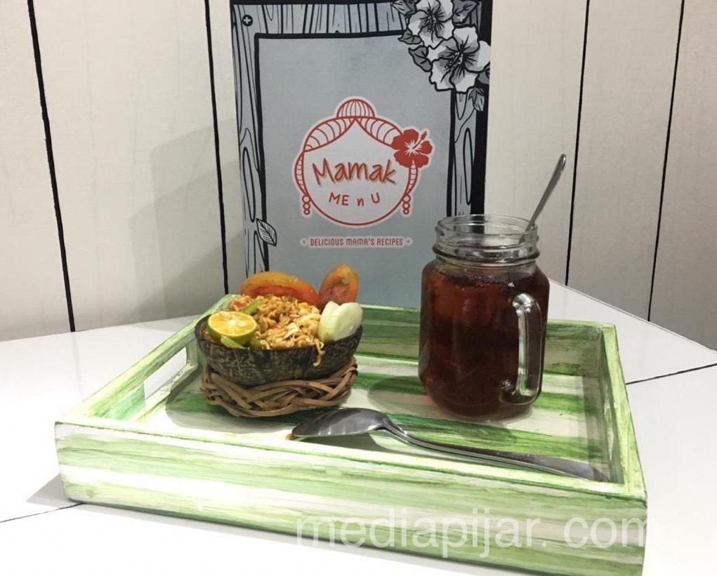 Salah satu menu di Kafe Mamak Me n U (Fotografer: Rifa Alya)