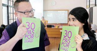 Mari Menyasarkan Diri Lewat Buku 30 Paspor The Peacekeepers Journey