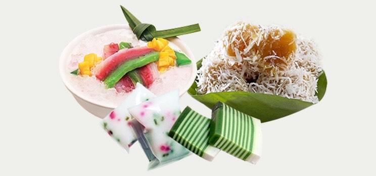 Beberapa Jenis kue yang berbahan dasar tepung Hun Kwe