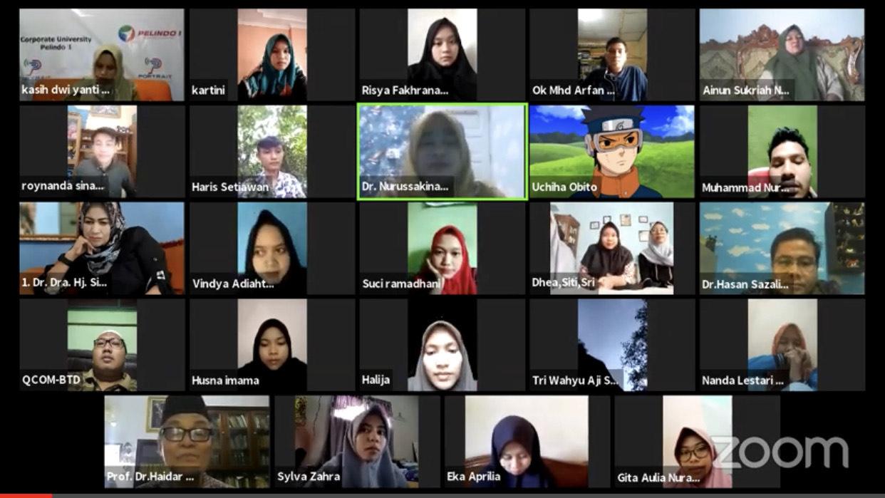 Live streaming acara seminar nasional Sumber Foto: Youtube iRRes Publisher