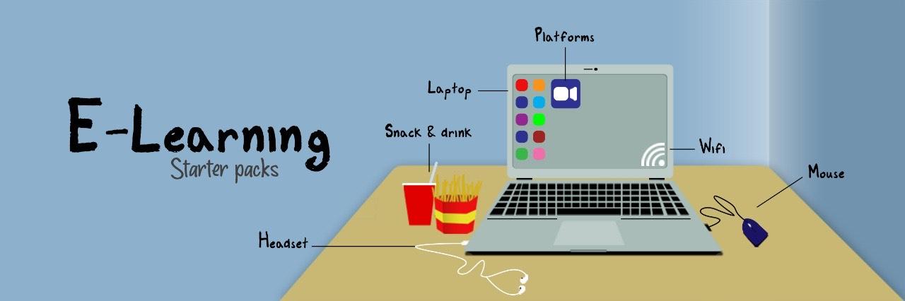 Belajar dari elektronik tak perlu khawatir lagi. (Illustrator: Frans Dicky Naibaho)
