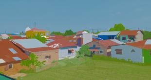 Suasana Kota Desa