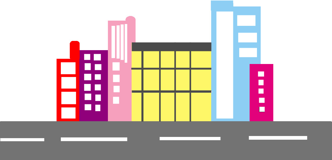 City towers and toll roads Illustrator: Madeline S. Sitio